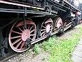 Skansen w Chabówce - lokomotywa - element koła 3.JPG