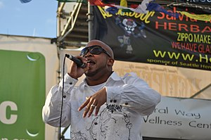 Skee-Lo - Skee-Lo Performing at the 2010 Seattle Hempfest