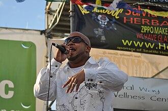 Skee-Lo - Skee-Lo Performing at the 2010 Seattle Hempfest