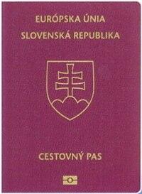 Обкладинка словацького біометричного