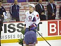 Slovenia VS USA at the IIHF World Hockey Championship 2008 - Anže Kopitar.jpg