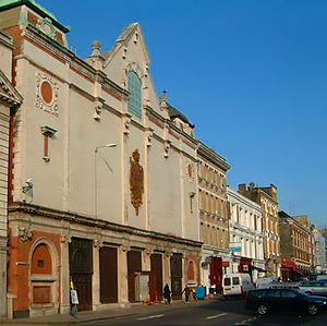 Charterhouse Street - The former Central Cold Store on Charterhouse Street