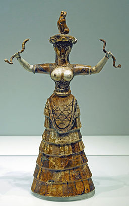 Snake goddess archmus Heraklion