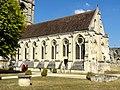 Soissons (02), abbaye Saint-Jean-des-Vignes, réfectoire, vue depuis le sud-ouest.jpg