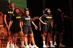 Soldier Show cast get pumped for a physical training scene 150418-A-ZZ999-001.jpg