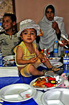 Soldier gives Afghan children taste of US culture DVIDS421755.jpg