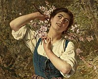 Sophie Gengembre Anderson - Capri Girl with Flowers.jpg