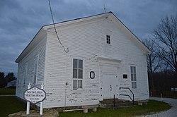South Leroy Meetinghouse, built 1832