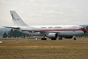 Spanish Air Force Airbus A310-300 CBR Gilbert.jpg