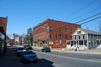 Massachusetts Route 9 - Image: Spencer Center