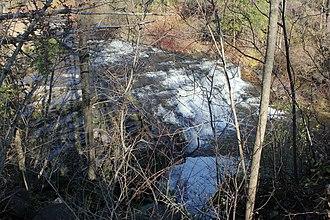Spencer Creek (Ontario) - Spencer Creek cascade