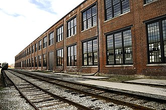 Southern Railway's Spencer Shops - Spencer train repair shop