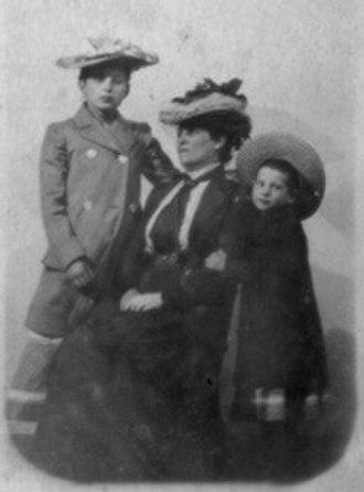 Sabina Spielrein - Sabina Spielrein as child (left), with her mother and sister.