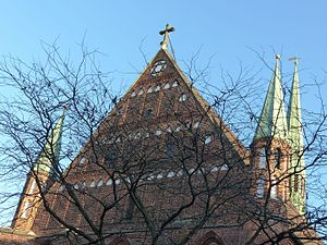 St. John's Church, Bremen - Decorated gable