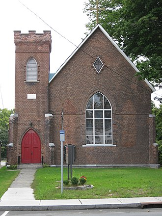 St. James Episcopal Church (Fort Edward, New York) - St. James Episcopal Church, September 2009