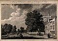 St. John's College, St. Giles and St. Giles Church, Oxford; Wellcome V0014165.jpg