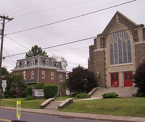 Richlandtown, Pennsylvania - Main Street in Richlandtown