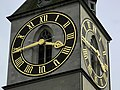 St. Peter - Turmuhr - Peterhofstatt 2012-09-18 15-43-50 (P7000).JPG