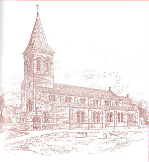 St George's Church, Altrincham - Image: St Georges Alt 1895