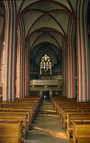 St. John's Church, Bremen - View of the organ
