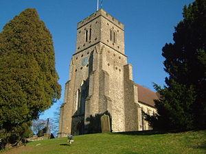 Platt, Kent - Image: St Mary Platt 3613