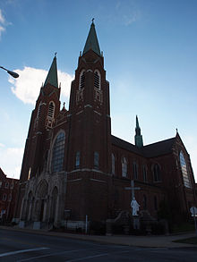 St. Adalbert Parish, South Bend, Indiana.