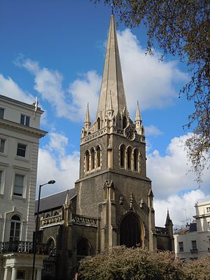 St James's Church, Paddington - Image: St James Sussex Gardens