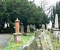 St Mary's, Minera, graveyard - geograph.org.uk - 622579.jpg