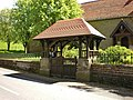 St Mary's Church Borwick, Lych Gate - geograph.org.uk - 1306346.jpg