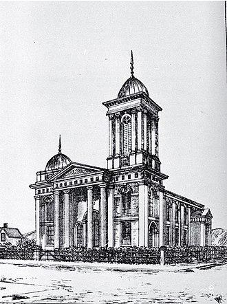 Andrew Duncan (mayor) - St Paul's Presbyterian Church in 1885