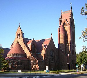 Timeline of Lynn, Massachusetts - St. Stephen's Memorial Episcopal Church