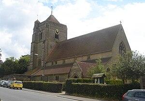 Holy Trinity Church, Cuckfield - St Wilfrid's Church, Haywards Heath—formerly part of Holy Trinity's parish