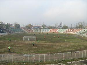 Stadionul Municipal (Drobeta-Turnu Severin) - Image: Stadiondrobeta