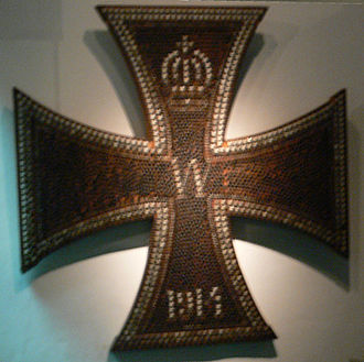 Nail Men - Iron Cross in the museum in Erfurt