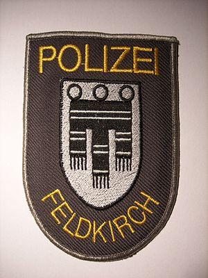 Municipal police (Austria) - Image: Stadtpolizei Feldkirch