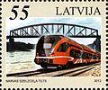Stamps of Latvia, 2012-29.jpg
