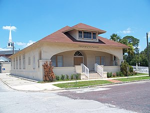 National Register of Historic Places listings in Bradford County, Florida - Image: Starke Woman's Club 01