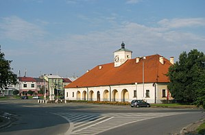 Staszów - Old Town Hall and Market Square