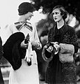 StateLibQld 1 104136 Esma Quinn and Gwen Johnson at the Doomben races, Brisbane, 29 July 1933 (cut).jpg