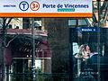 Station Brancion, Paris Tram T3, January 2015.jpg