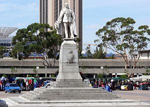 Grand Parade (Cape Town) - Image: Statue Edward Vll on The Parade
