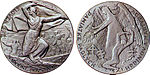 Stefunko Frano Medaila SNP (averz a reverz) 1947.jpg