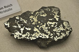Estherville, Iowa - A piece of the stony-iron mesosiderite found near Estherville