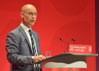 Stephen Kinnock - Kinnock speaking at the 2016 Labour Party Conference