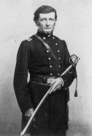 Stephen Miller (Minnesota governor) -  Stephen Miller in 1863