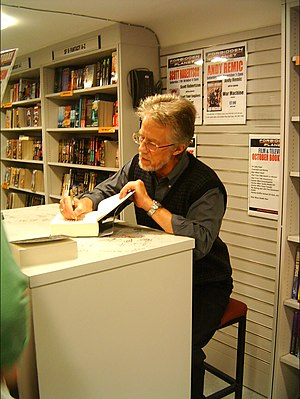 Stephen R. Donaldson on a 2007 book tour.