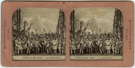 Stereokort, Guillaume Tell 6, La conjuration - SMV - S155a.tif