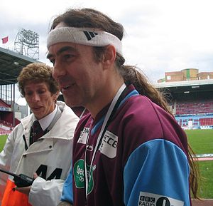Steve Harris (musician) - Harris at West Ham United's Boleyn Ground during Soccer Six 2005.
