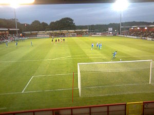 Broadhall Way - Image: Stevenagenight