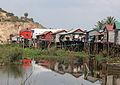 Stilt houses..Cambodia (4380929542).jpg